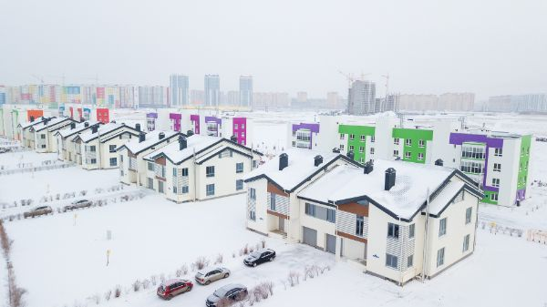 1-я Фотография ЖК «Квадрохаусы в Ново-Патрушево»