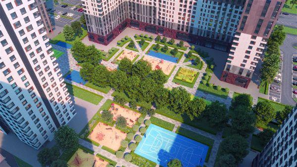 2-я Фотография ЖК «Город-парк Первый Московский»