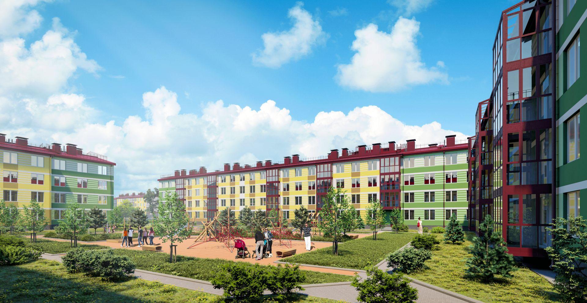 жилой комплекс Образцовый квартал 9