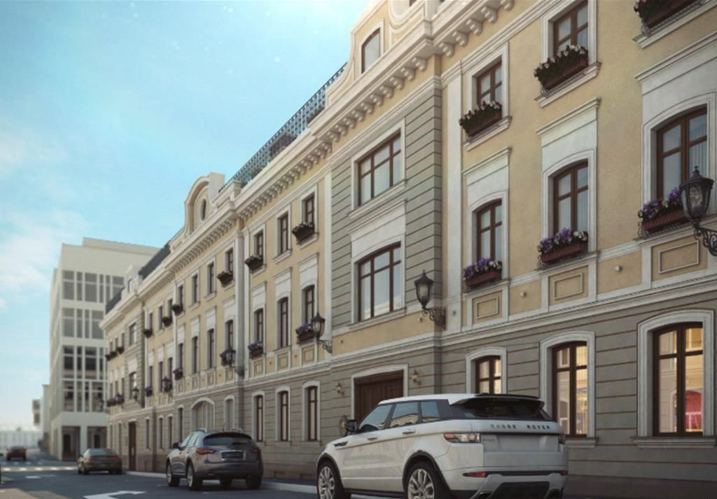 жилой комплекс Palazzo (Остоженка 12)
