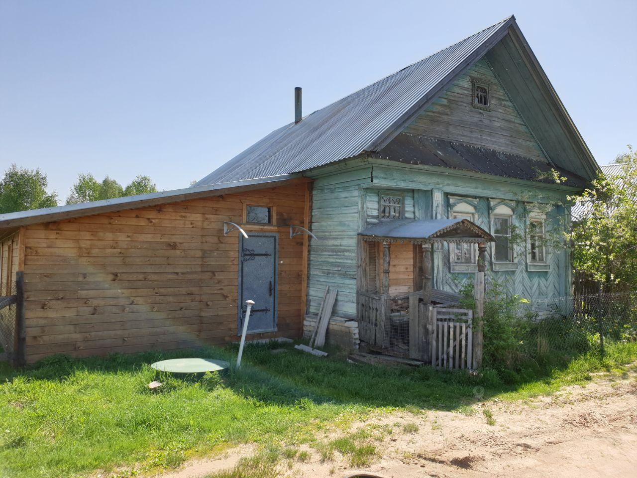 Купить дом 65м² Нижегородская область, Бор городской округ, Хрипуново деревня - база ЦИАН, объявление 253875219