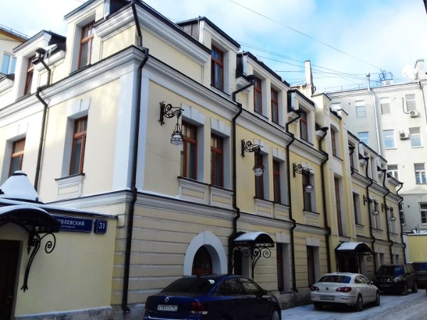 Особняк на Гоголевском бульваре, 31с3