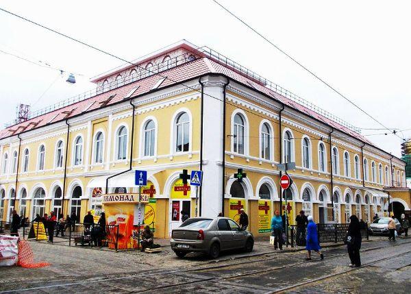 Торгово-офисный комплекс Максимовъ