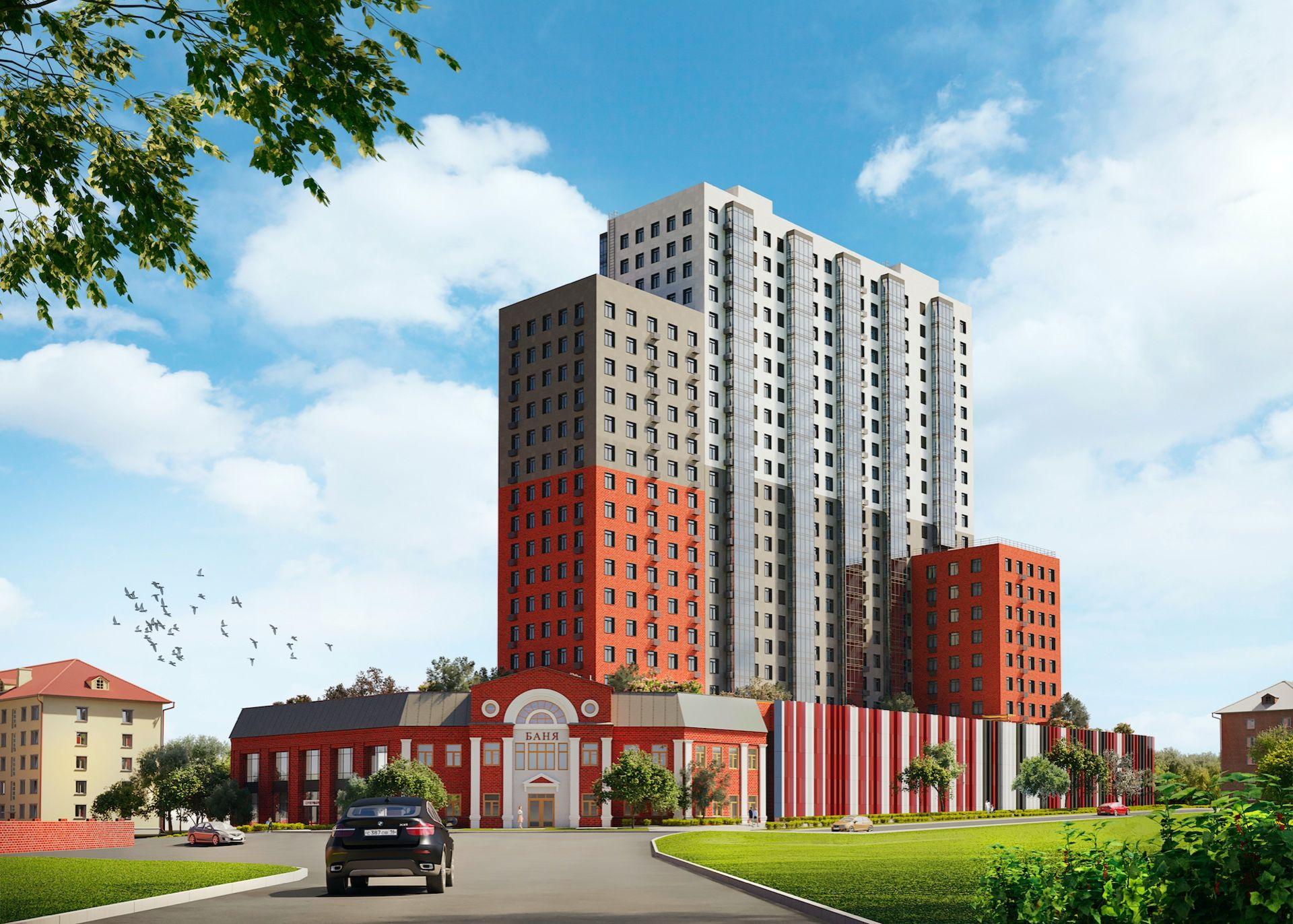 жилой комплекс Смородина