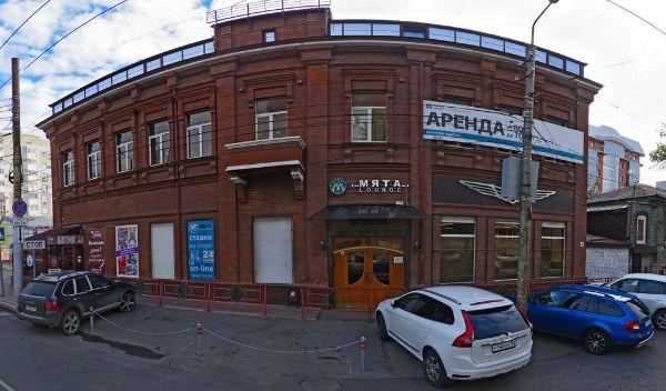 Офисное здание на ул. Льва Толстого,  77
