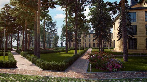 2-я Фотография ЖК «Первая линия. Apartments»
