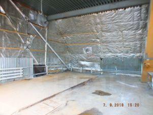 Помещение под производство жби утепляем чердачную плиту перекрытия