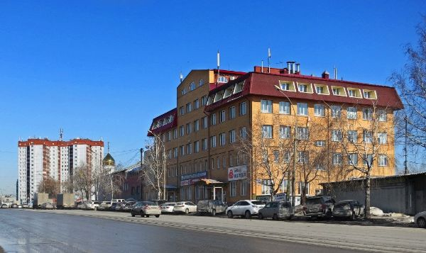 Офисное здание на ул. Немировича-Данченко, 120/2