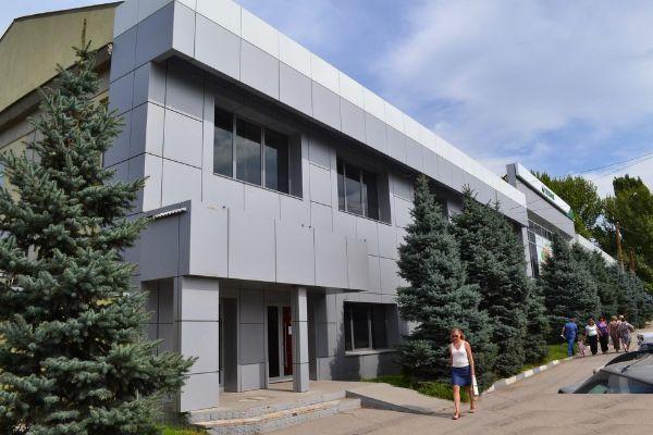 Отдельно стоящее здание на ул. Орджоникидзе, 11к2