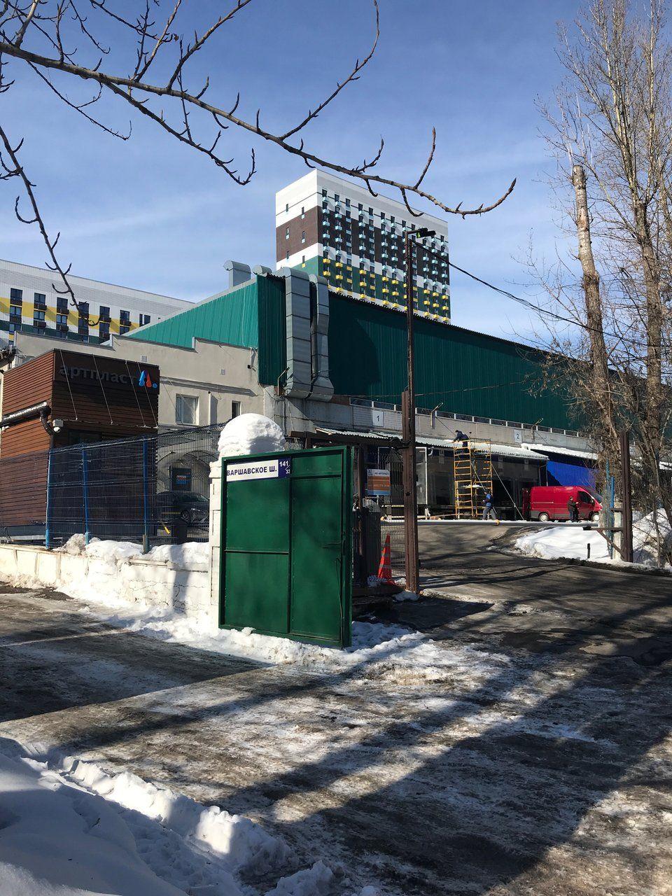 аренда помещений в СК на Варшавском шоссе, 141с34