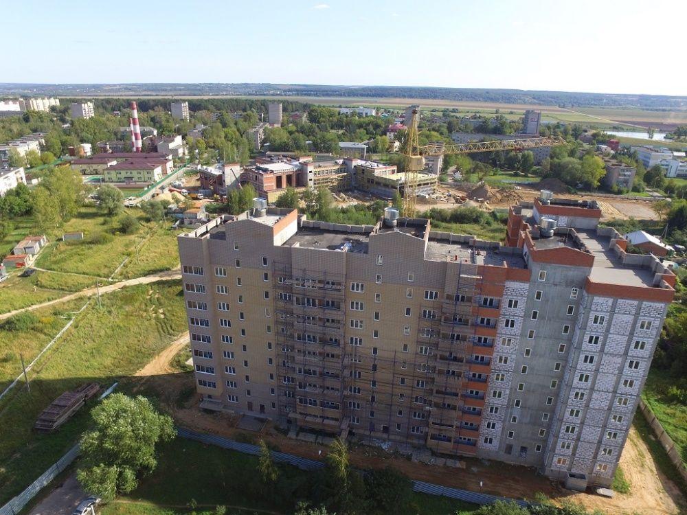 купить квартиру в ЖК Микрорайон в Большевике