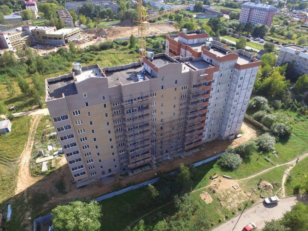 жилой комплекс Микрорайон в Большевике