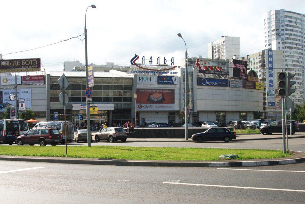аренда помещений в ТРЦ Ладья