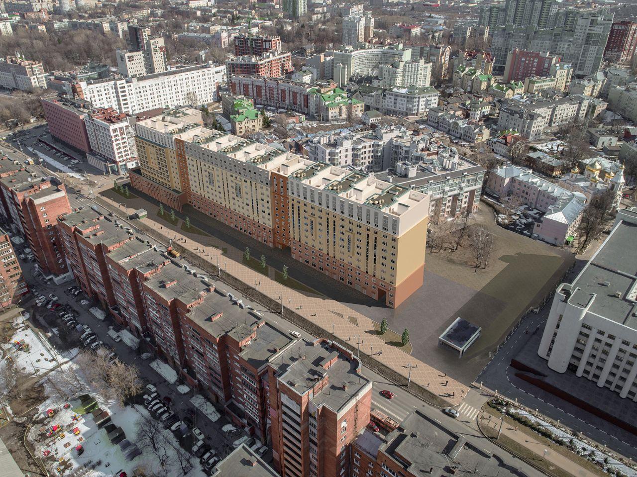 жилой комплекс Дом на Горького