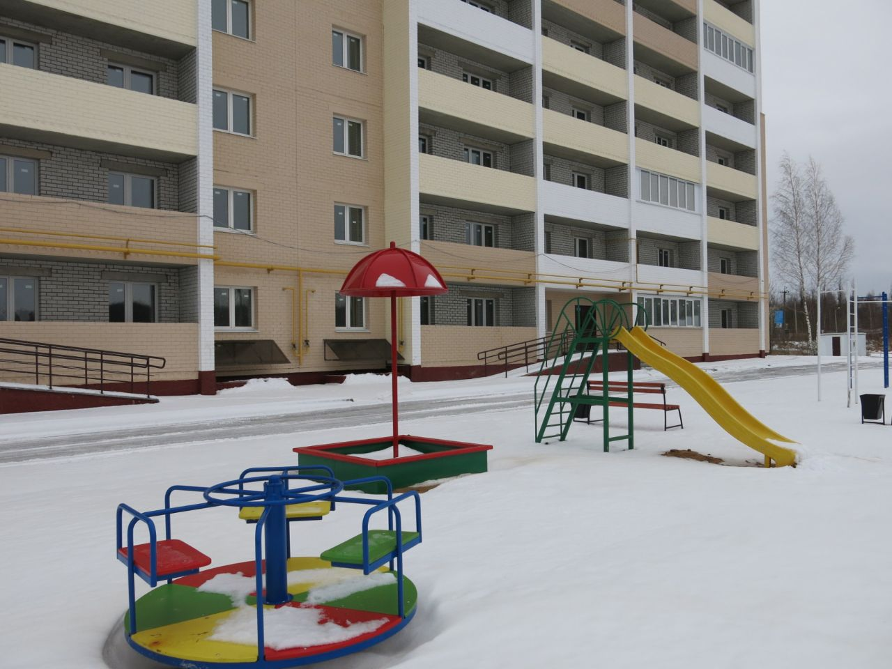жилой комплекс по ул. 3-й Академический проезд