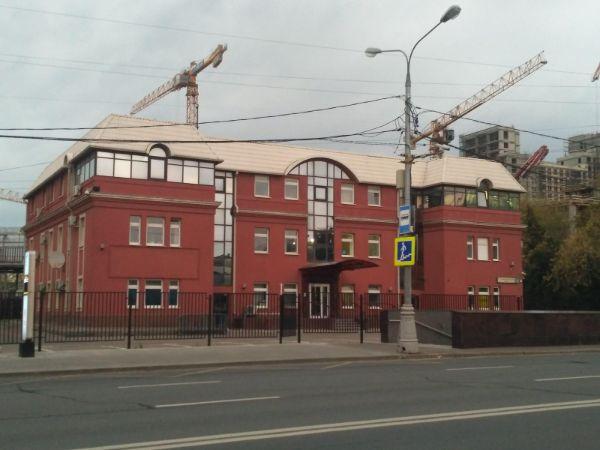 Отдельно стоящее здание на 1-м Красногвардейском проезде, 12с2