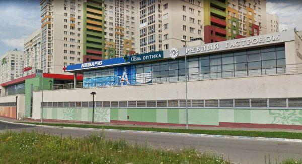 Многофункциональный комплекс на ул. Академика Сахарова, 109А