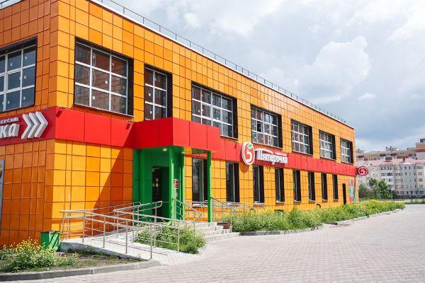 Торговый центр на ул. Склизкова, 102Б