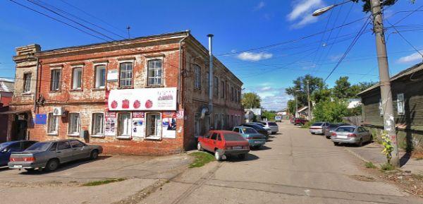 Отдельно стоящее здание на ул. Воробьева, 61