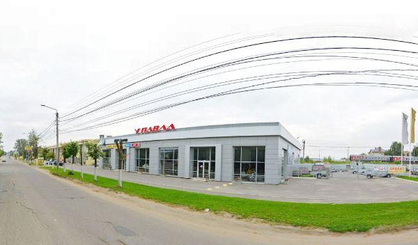 Специализированный торговый центр на ул. 2-я Волжская, 2Б