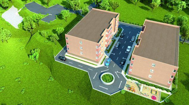 жилой комплекс Дом на холме
