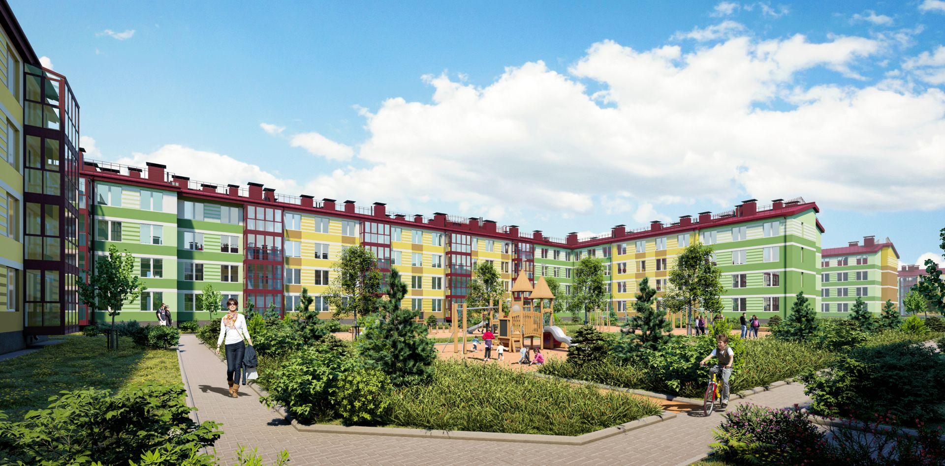жилой комплекс Образцовый квартал 10
