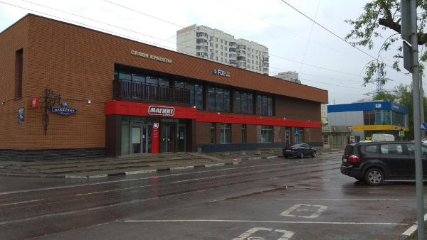 Торговый центр на ул. Бабакина, 1Б