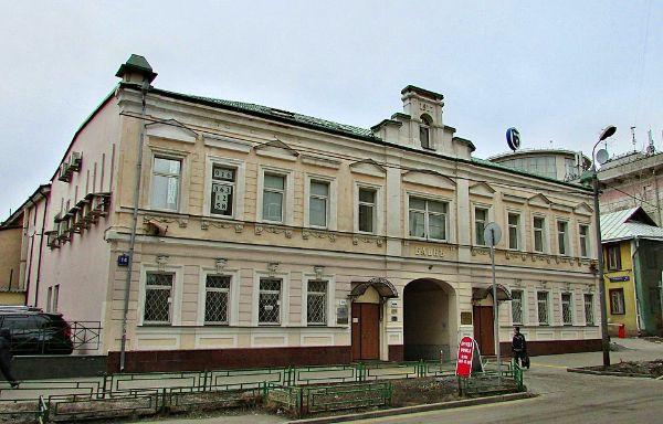 Особняк в 1-м переулке Тружеников, 14с1