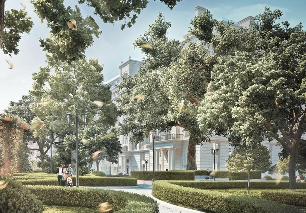 жилой комплекс Knightsbridge Private Park (Найтсбридж Приват Парк)