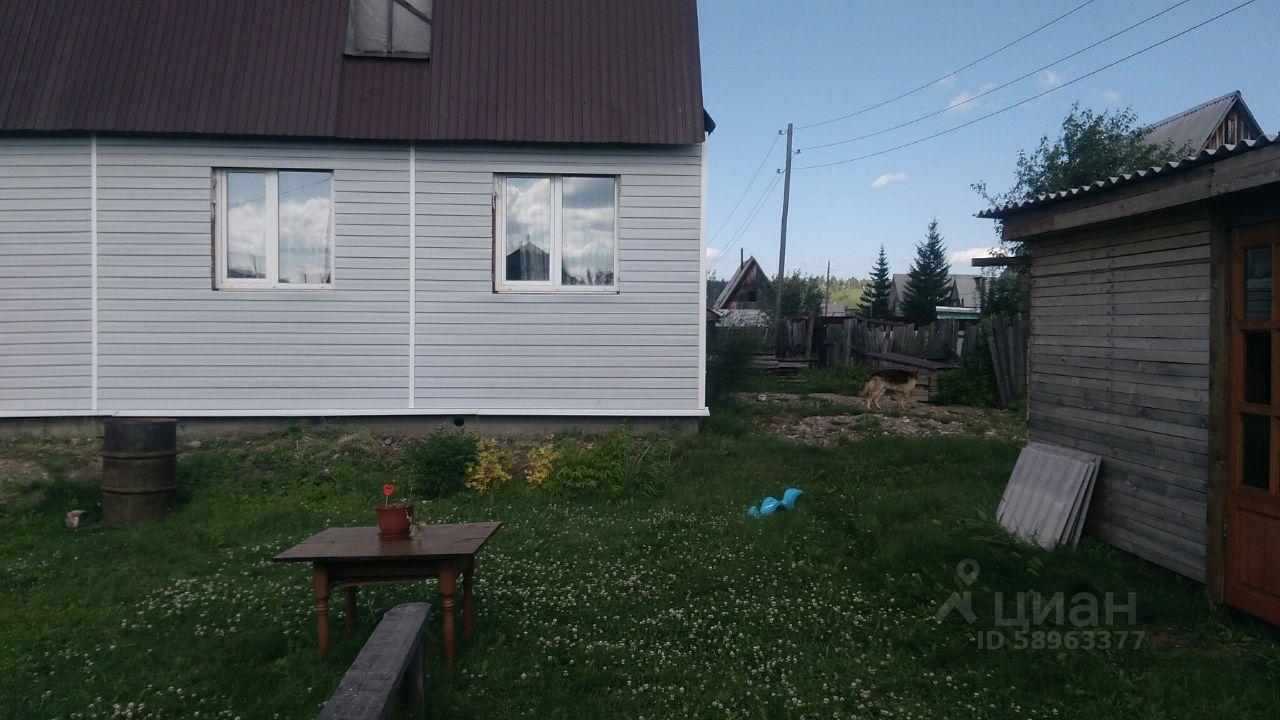 Купить дом 96м² Иркутская область, Шелехов, Багульник СНТ - база ЦИАН, объявление 241597482