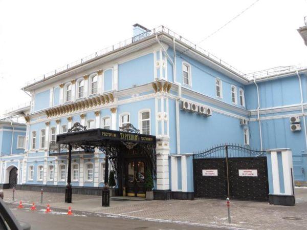 Офисно-гостиничный комплекс на ул. Тургеневская, 13