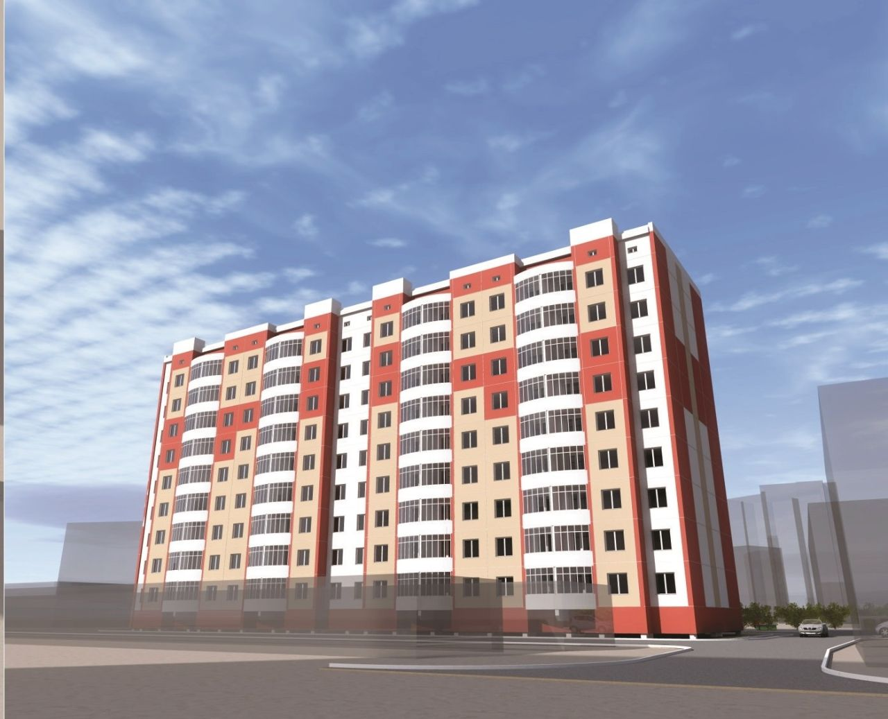 жилой комплекс по ул. Каландаришвили, 25 (66 квартал)