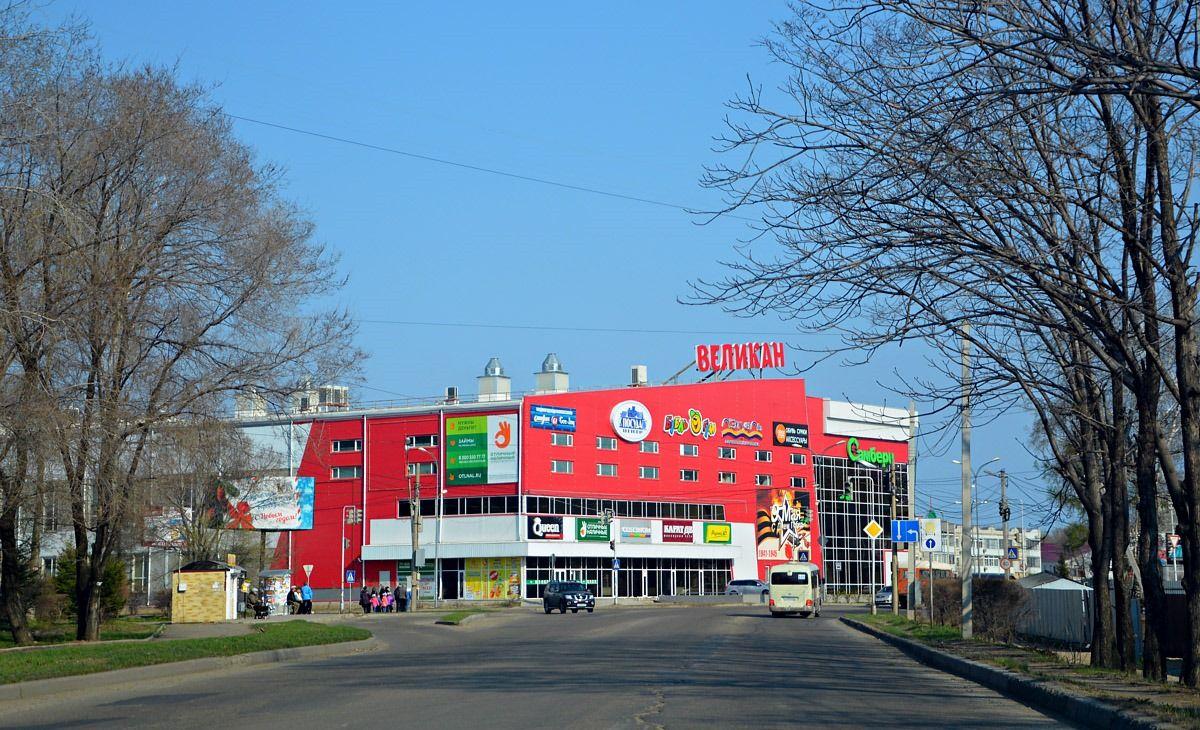 продажа помещений в ТЦ Великан