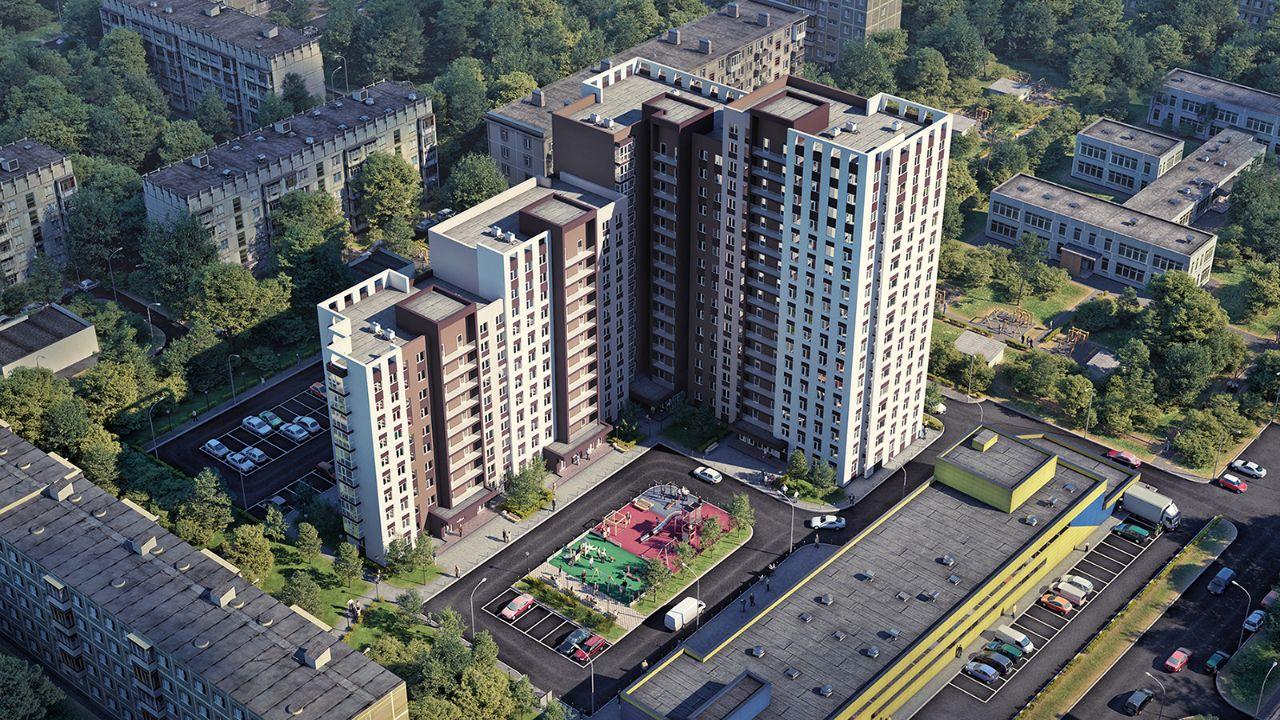жилой комплекс Каскад на Ленина