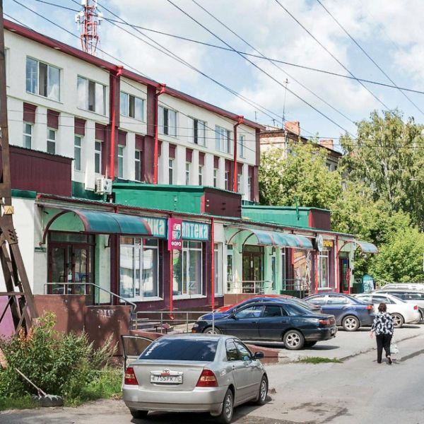 Торговый комплекс на ул. Киевская, 93