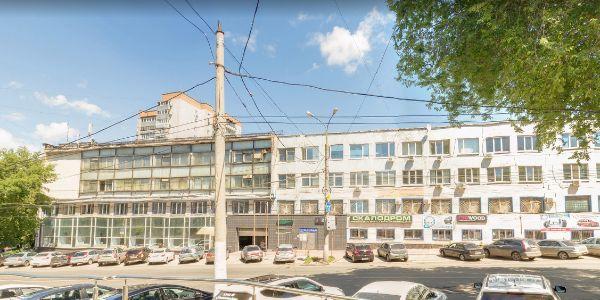 Офисное здание на проспекте Масленникова, 4