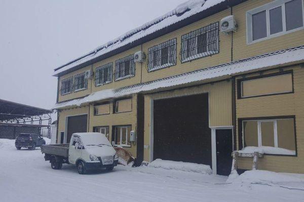 Офисно-складской комплекс на ул. Индустриальная, 89с1
