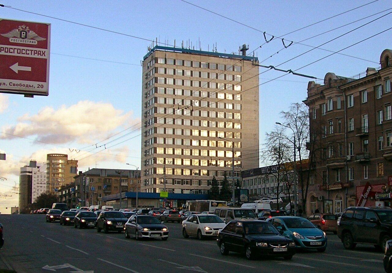 аренда помещений в БЦ Центр Международной Торговли Челябинск