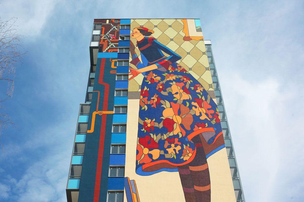 жилой комплекс Граффити