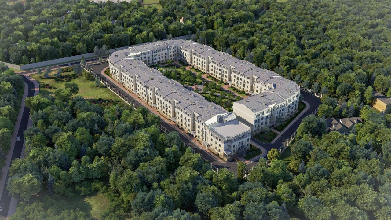 жилой комплекс Грибовский лес
