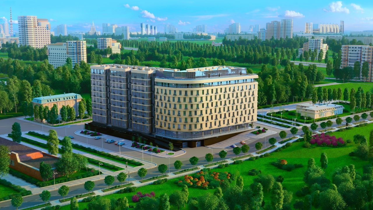 жилой комплекс Новая Пресня