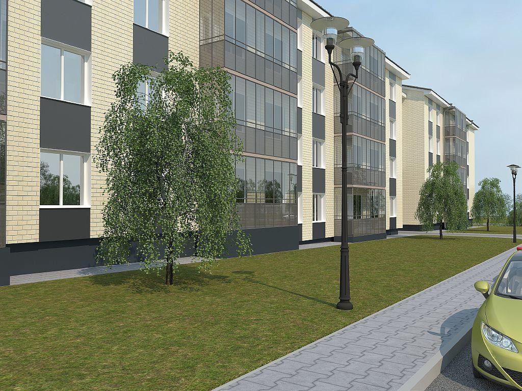 жилой комплекс ЭкспоГрад 1
