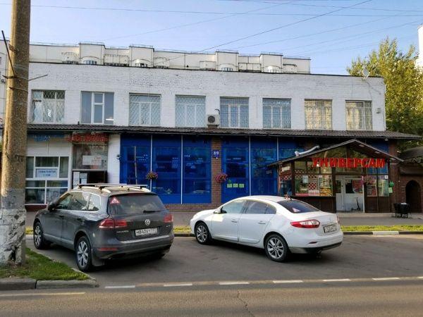Торгово-офисный комплекс на ул. Юных Ленинцев, 89к1