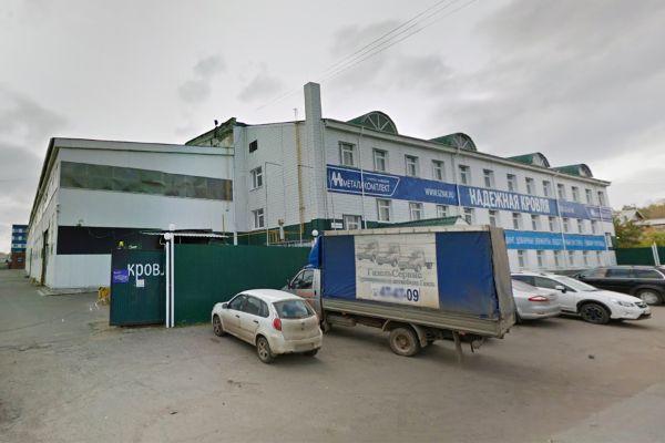 Складской комплекс на ул. Телегина, 39