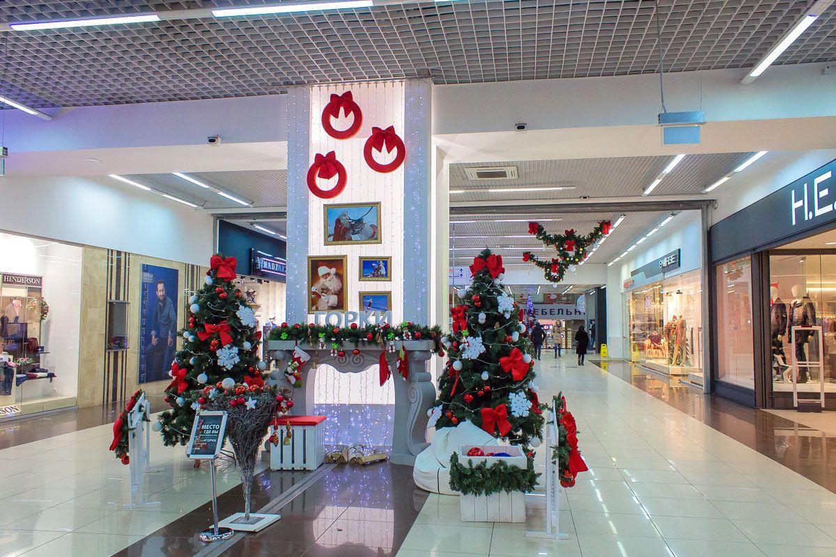 Торгово-развлекательном центре Горки