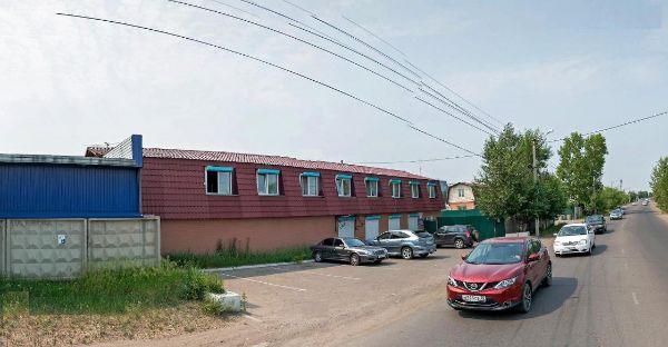 Офисное здание на ул. Трактовая, 7