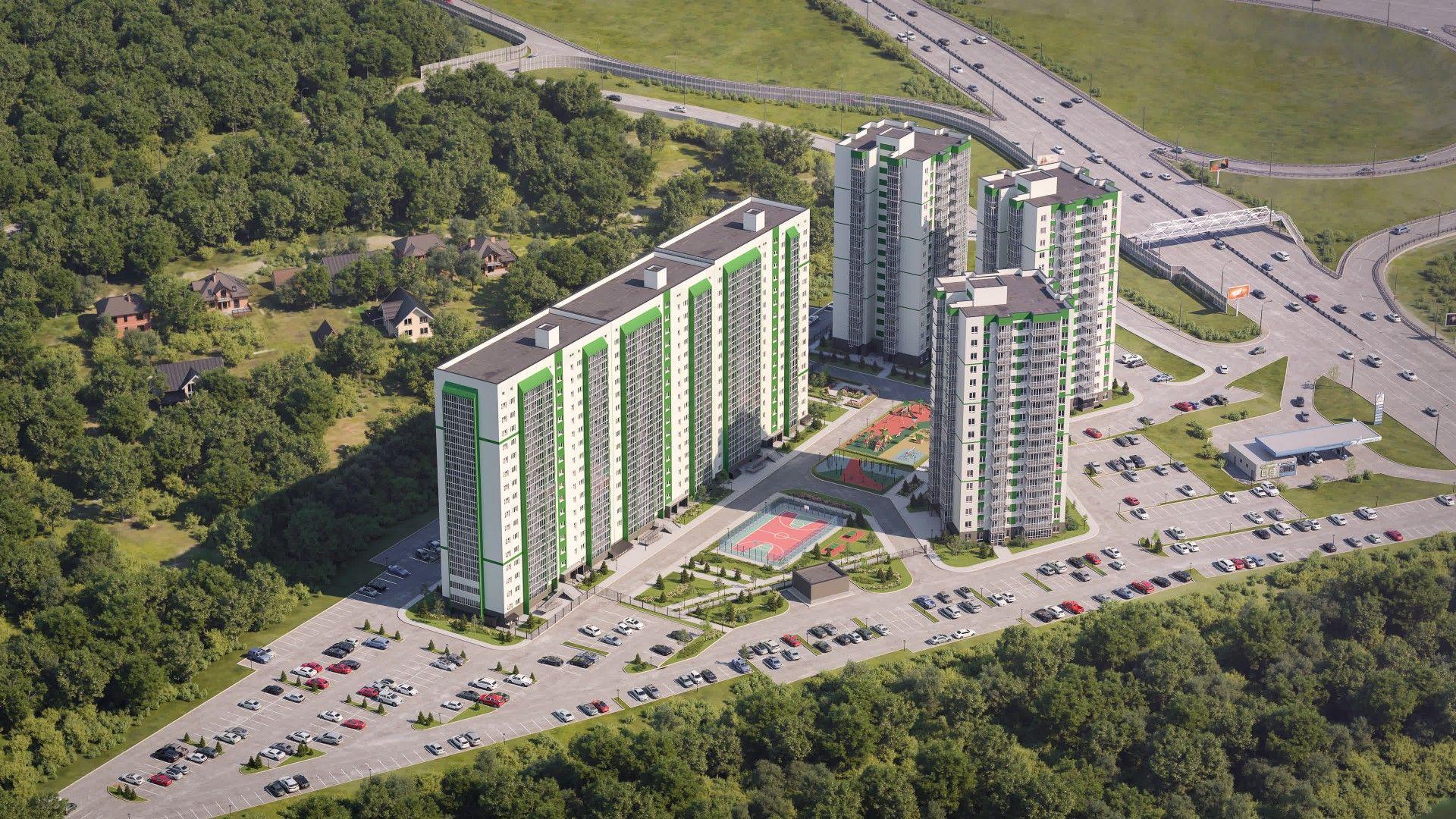 купить квартиру в ЖК Акация на Ватутина