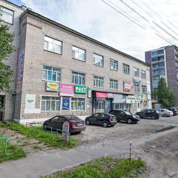 Торгово-офисный комплекс на ул. Вологодская, 39