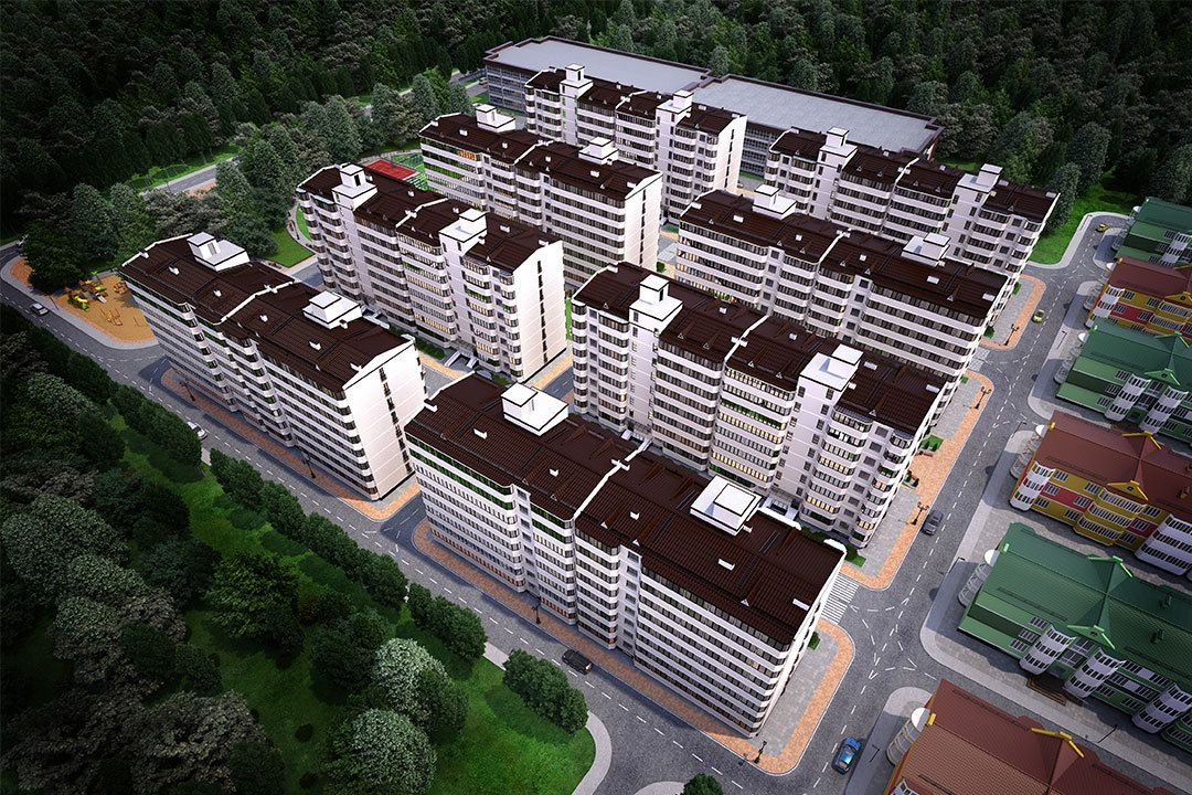 жилой комплекс Сити