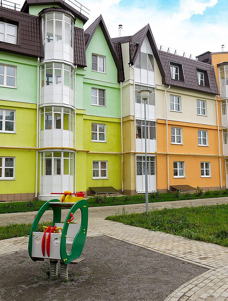 жилой комплекс Квартал в Лесном